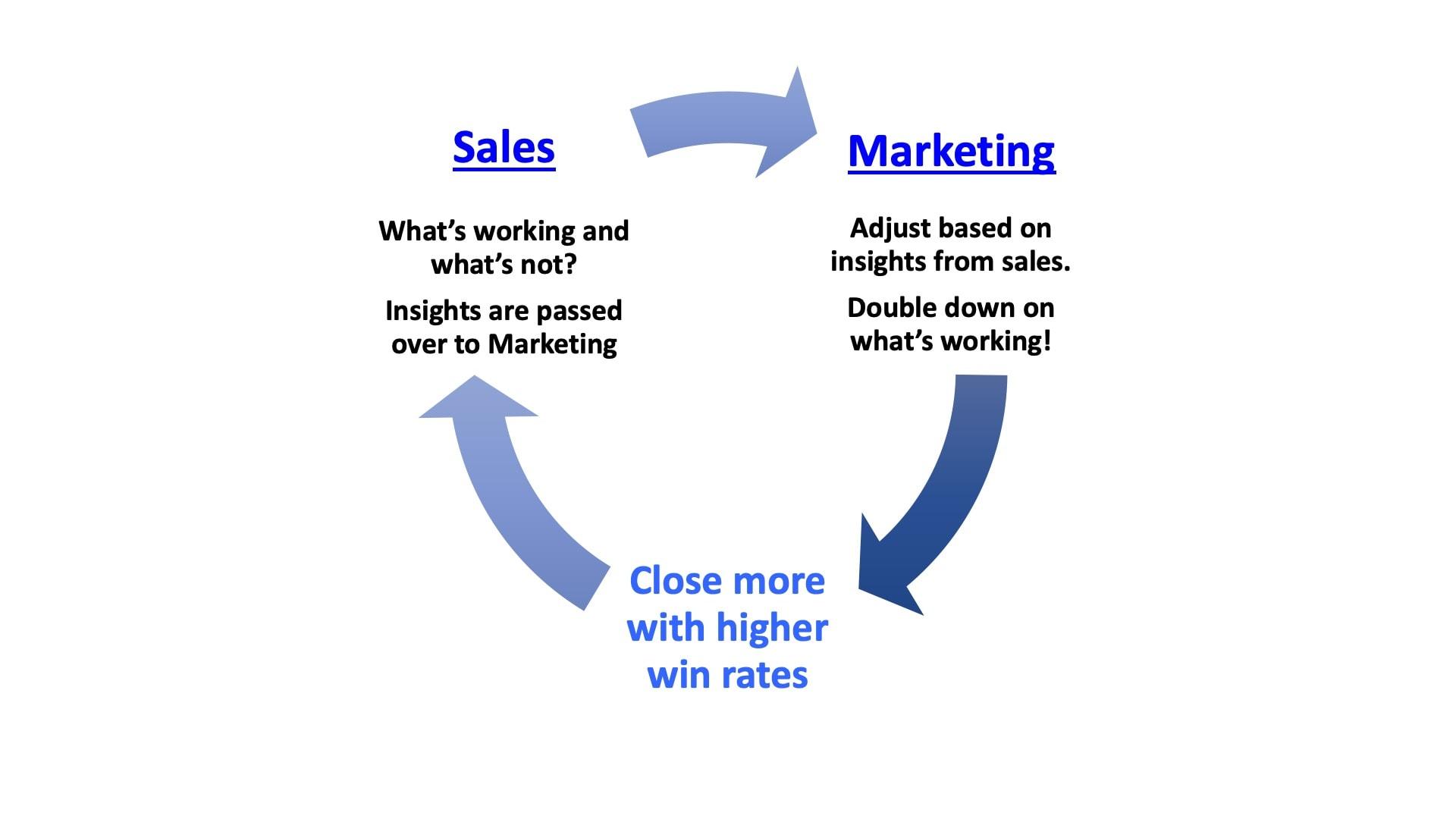 sales and marketing feedback loop